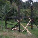 Domek ogrodowy – szkielet