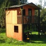 Domek ogrodowy – drugi etap