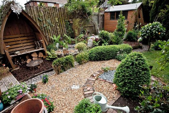 Piekny ogród